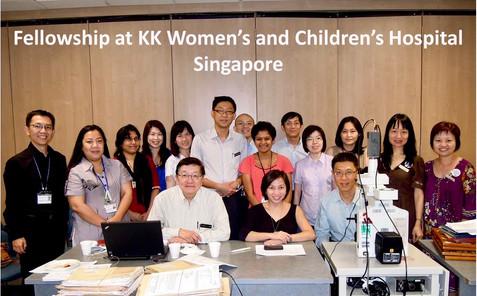 Tumor board meeting, Singapore