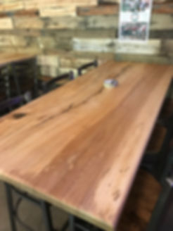Restaurant Wood Table