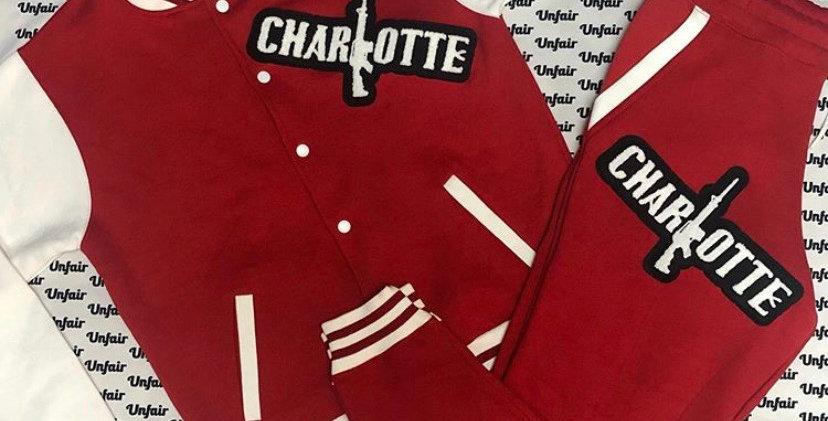 Red Varsity Set Charlotte