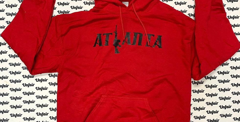 Red Atlanta Hoodie