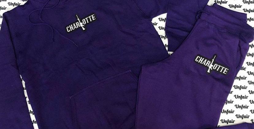 Purple Jogger Set