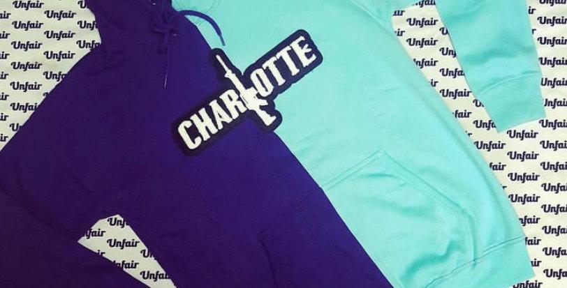 Half and Half Charlotte Hoodie
