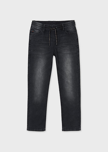 Jeans soft noir-Mayoral