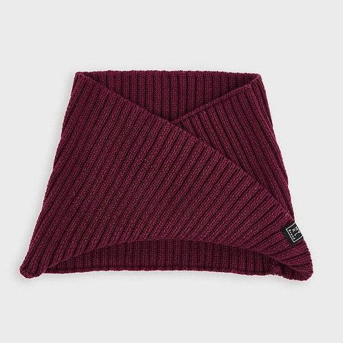 Cache-cou en tricot bourgogne - Mayoral