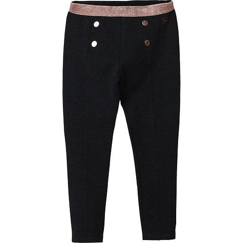 Pantalons Nuit à taille élastique métallisée - Carrément Beau