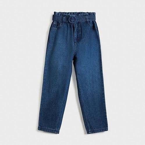Pantalon denim ceinturé - Mayoral