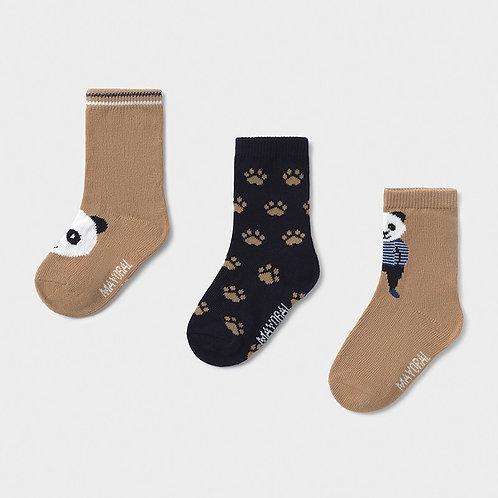 Chaussettes à motif panda - Mayoral