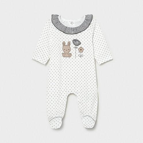 Pyjama fleur et lapin-Mayoral