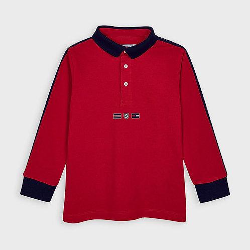 Haut de style polo rouge - Mayoral