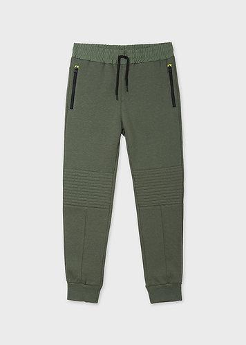 Pantalon contraste sauge-Mayoral