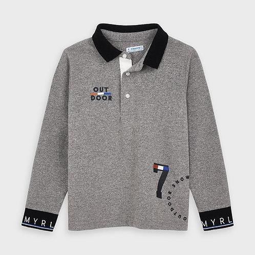 Haut de style polo gris - Mayoral