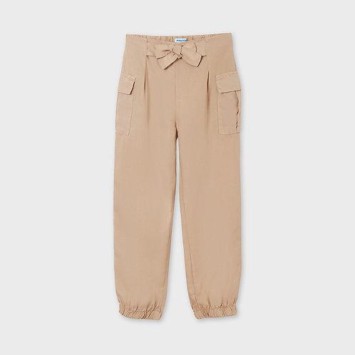 Pantalon long fluide noisette-Mayoral