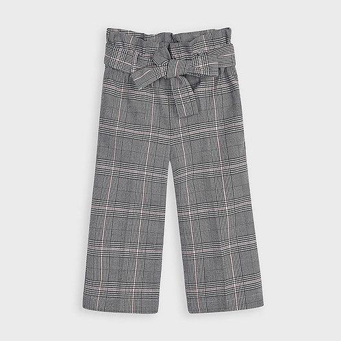 Pantalon à carreaux gris - Mayoral