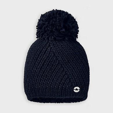 Bonnet en tricot marine-Mayoral