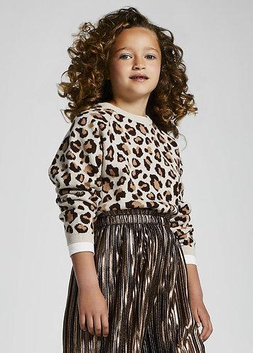 Pull léopard-Mayoral