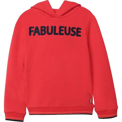 Pull rouge Fabuleuse - Carrément Beau