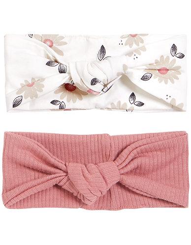 Bandeau fleurs/rose-Petit Lem