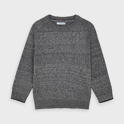 Pull en coton gris - Mayoral