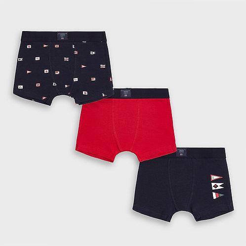 Boxer marine et rouge - Mayoral
