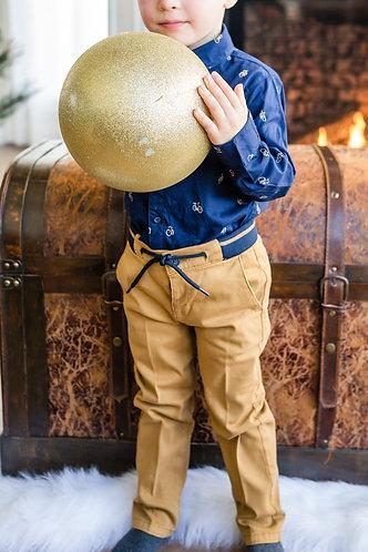 Pantalon de couleur dijon - Mayoral