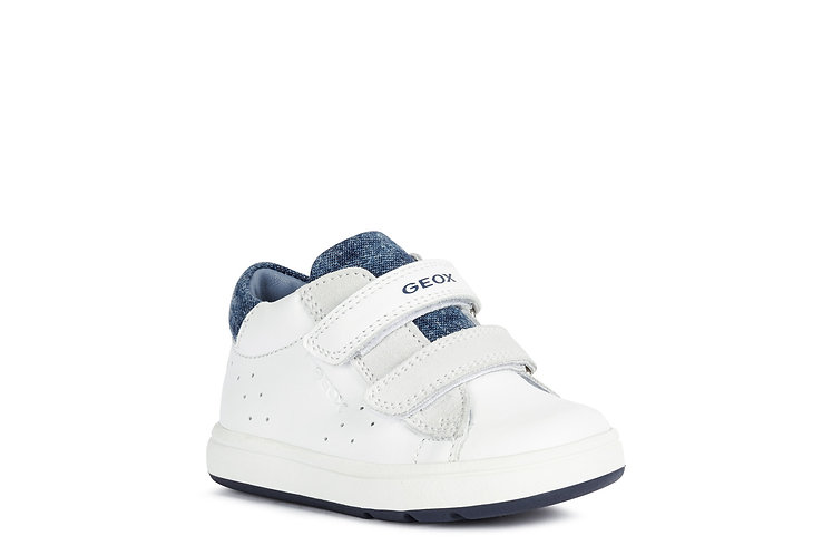 Chaussure blanche/marine-Geox