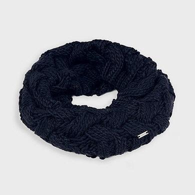 Écharpe en tricot marine-Mayoral