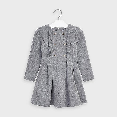 Robe grise avec boucle - Mayoral