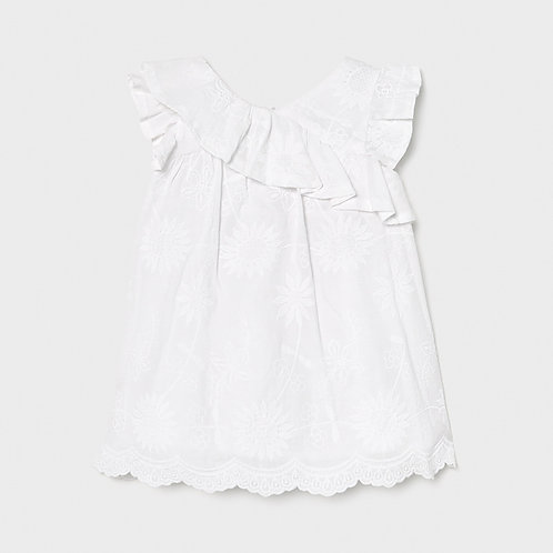 Robe blanche-Mayoral