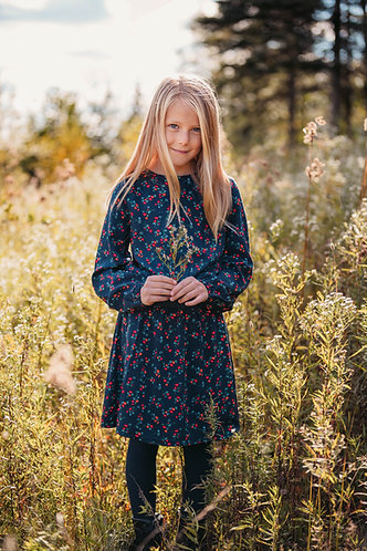 Robe à motif floral - Carrément Beau