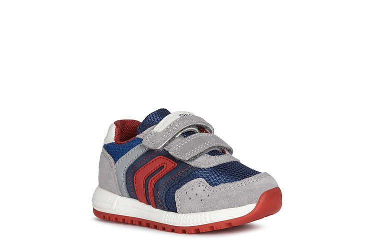 Chaussure gris/marine-Geox