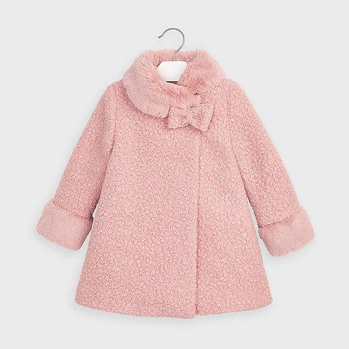 Manteau de couleur vieux-rose - Mayoral