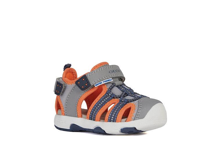Sandale gris/orange-Geox