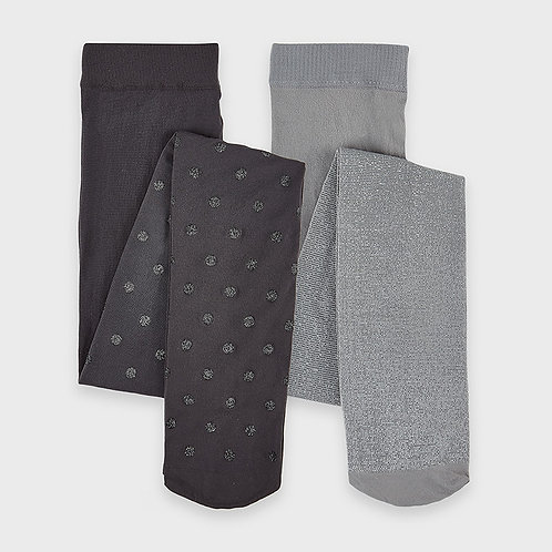 Collant gris 2 paires - Mayoral