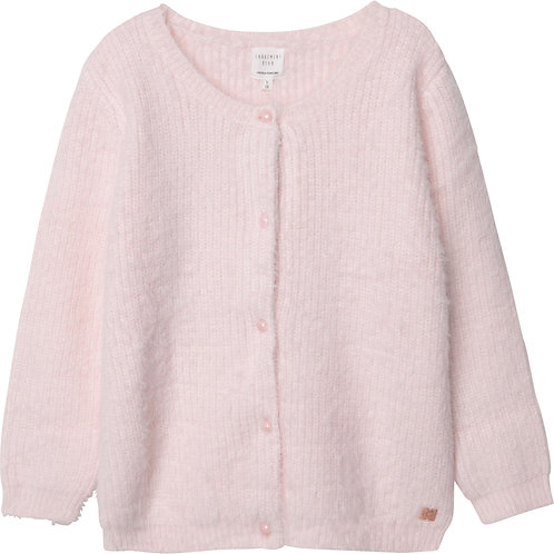 Cardigan en tricot doux Litchi - Carrément Beau