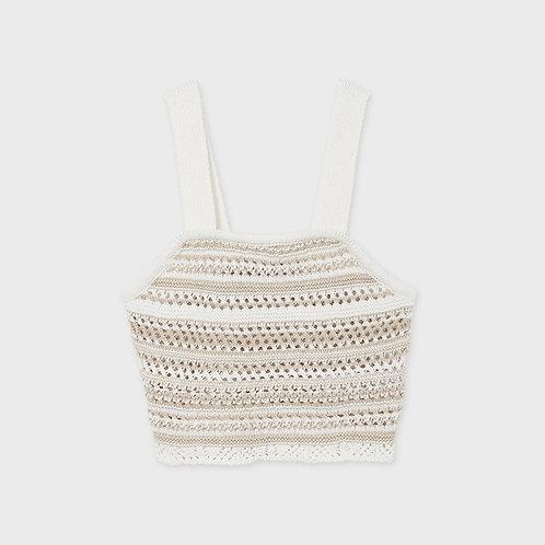 Haut à bretelle tricot-Mayoral