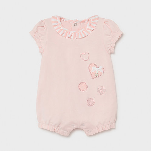 Barboteuse Rose baby-Mayoral