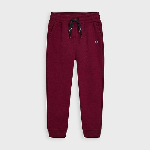Pantalon style jogging bourgogne - Mayoral