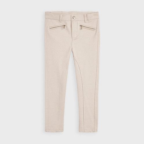 Pantalon de toile extensible pierre - Mayoral
