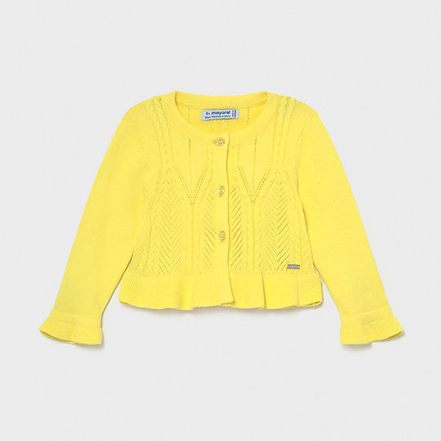Cardigan jaune-Mayoral