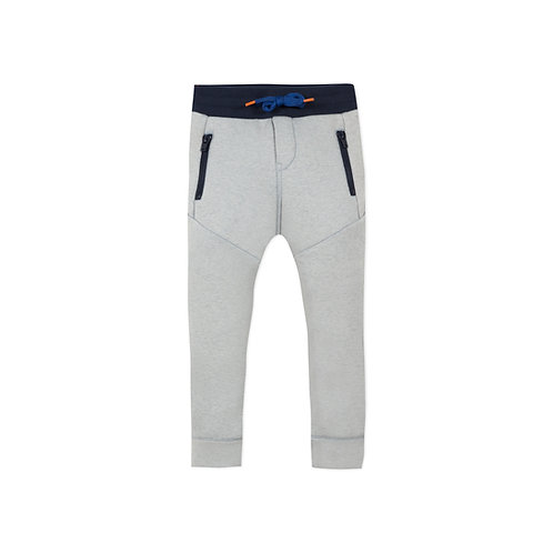 Pantalon jogging de couleur brume - Catimini