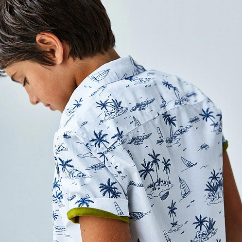 Chemise tropical-Mayoral