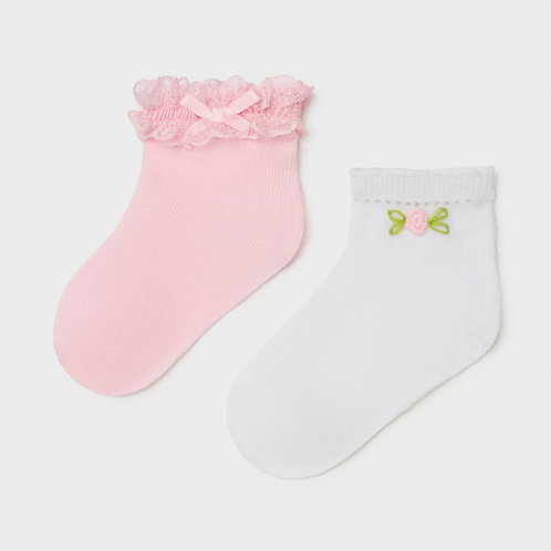 Chaussette rose-Mayoral
