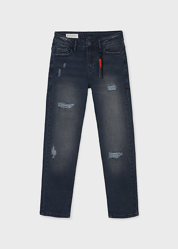 Jeans noir/bleu-Mayoral
