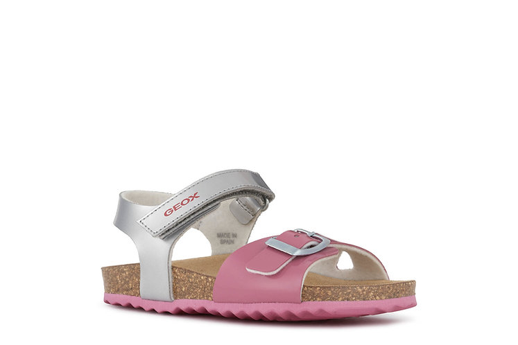 Sandale argent/rose-Geox