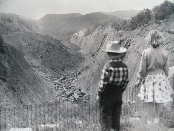 With Sis circa 1957