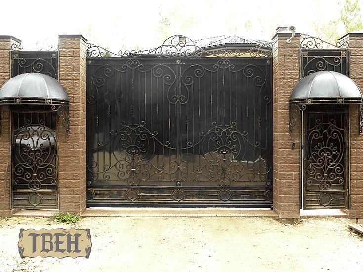 Ворота и калитки ВК-07