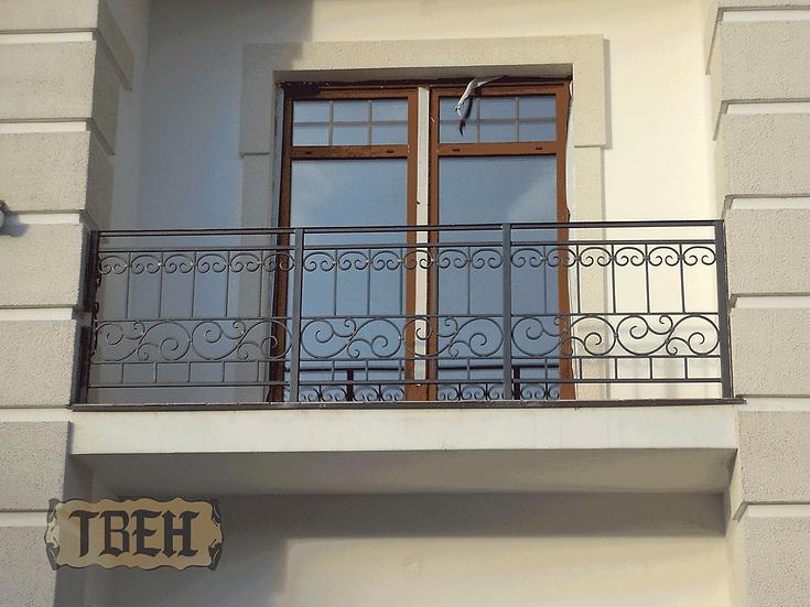 Балконное ограждение БО-02