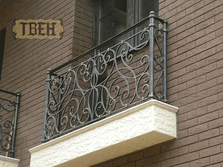 Балконное ограждение БО-12