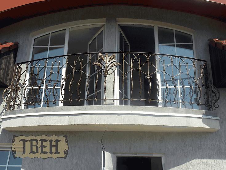Балконное ограждение БО-08