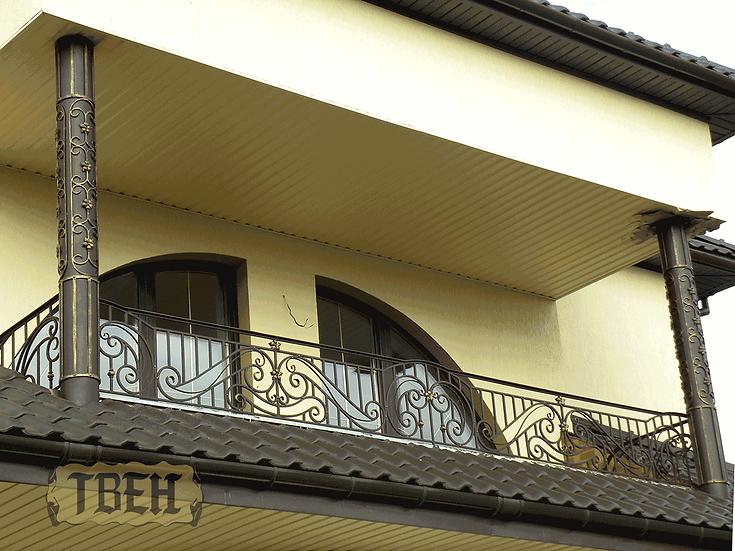 Балконное ограждение БО-07